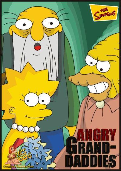 Simpsons- Kızgın büyükbabaları.